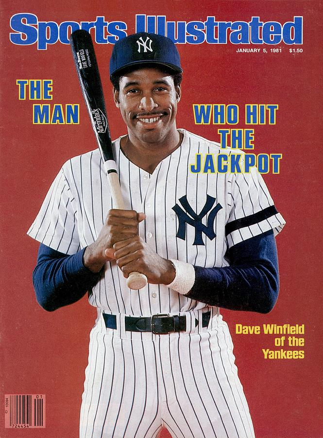 New York Yankees Dave Winfield Sports Illustrated Cover Photograph by Sports Illustrated
