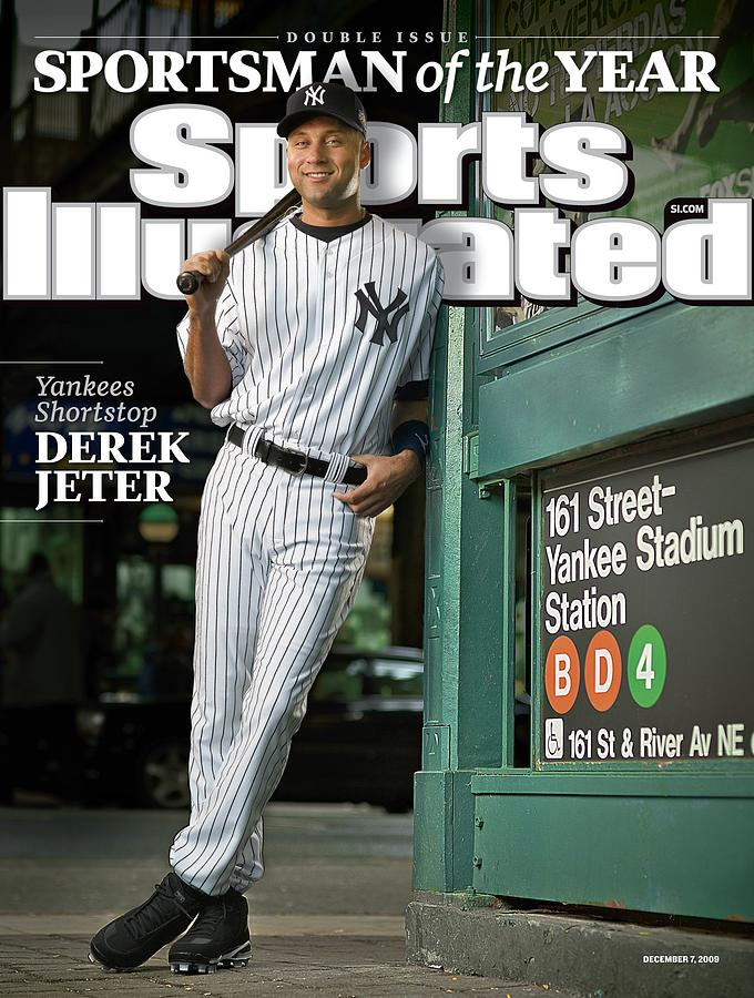 New York Yankees Derek Jeter, 2009 Sportsman Of The Year Sports Illustrated Cover Photograph by Sports Illustrated