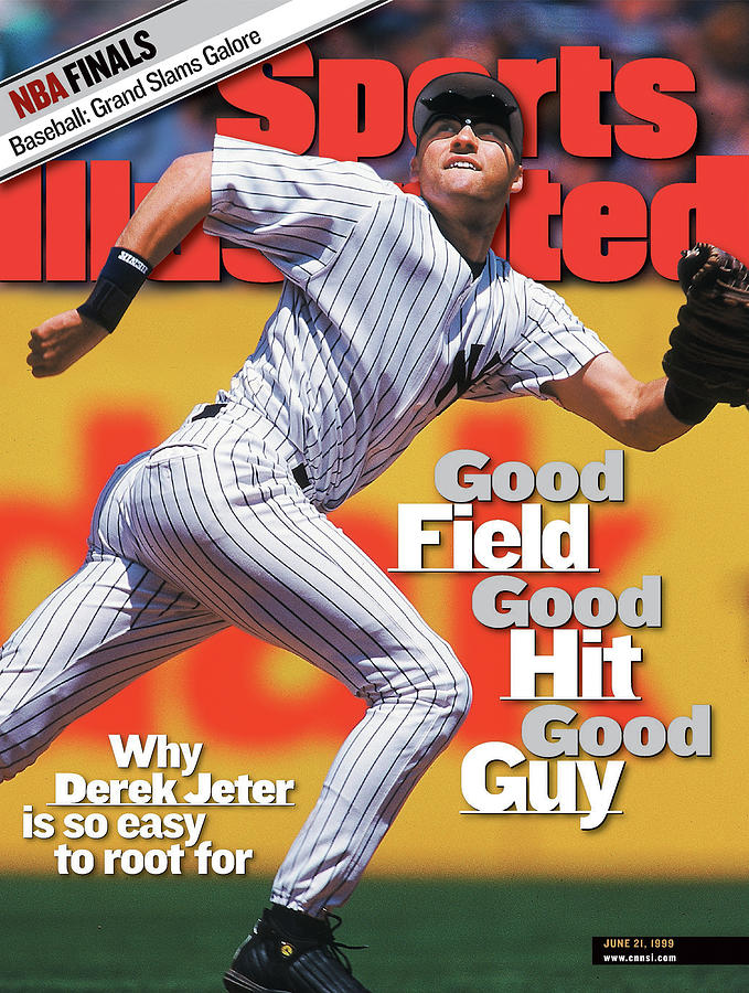 New York Yankees Derek Jeter... Sports Illustrated Cover Photograph by Sports Illustrated