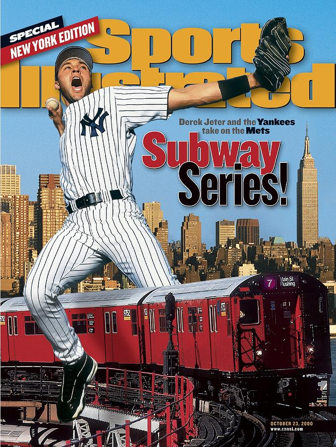 New York Yankees Derek Jeter Sports Illustrated Cover Photograph by Sports Illustrated