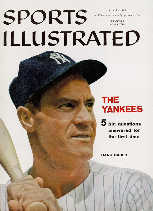 New York Yankees Hank Bauer Sports Illustrated Cover Photograph by Sports Illustrated