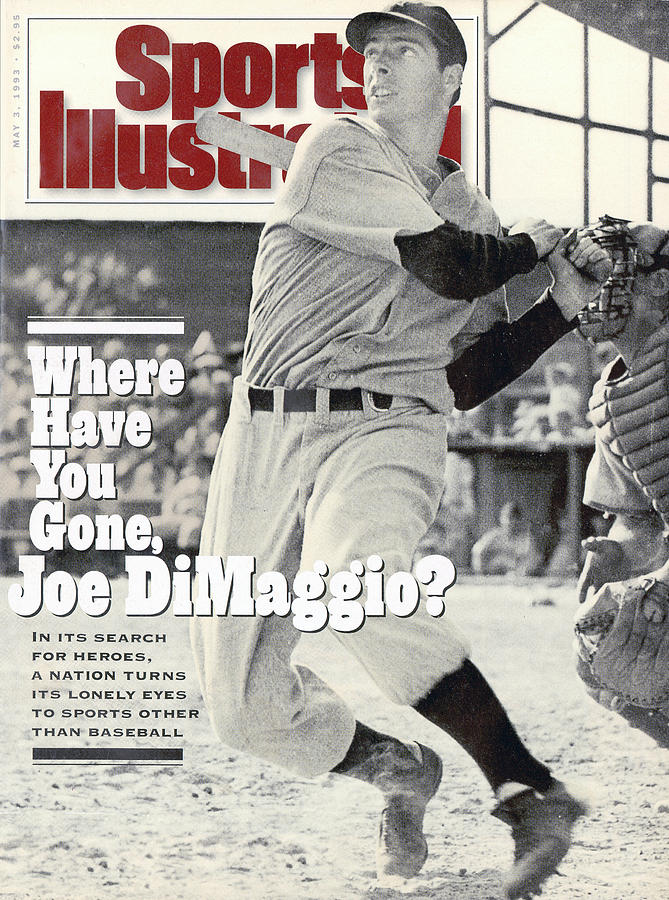 New York Yankees Joe Dimaggio... Sports Illustrated Cover Photograph by Sports Illustrated