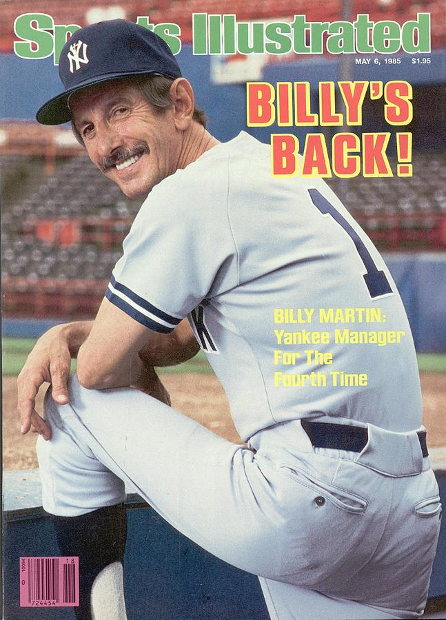 New York Yankees Manager Billy Martin Sports Illustrated Cover Photograph by Sports Illustrated