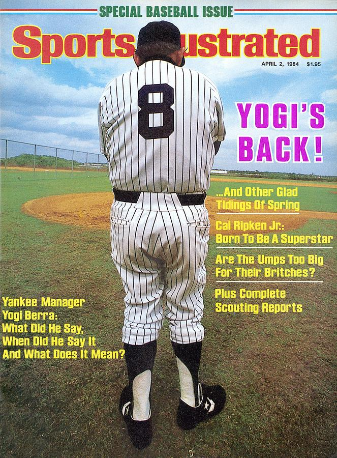 New York Yankees Manager Yogi Berra Sports Illustrated Cover Photograph by Sports Illustrated