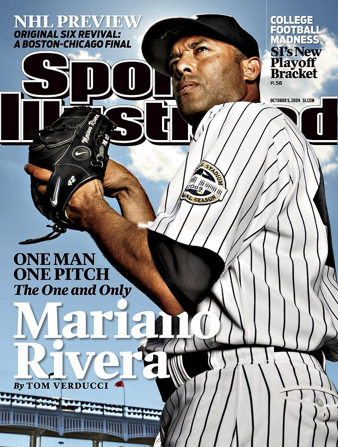New York Yankees Mariano Rivera Sports Illustrated Cover Photograph by Sports Illustrated