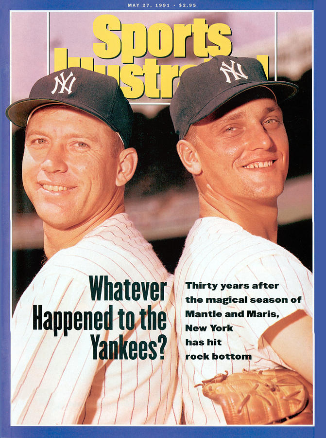New York Yankees Mickey Mantle And Roger Maris Sports Illustrated Cover Photograph by Sports Illustrated