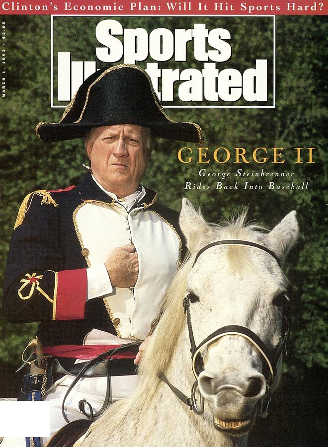 New York Yankees Owner George Steinbrenner Sports Illustrated Cover Photograph by Sports Illustrated