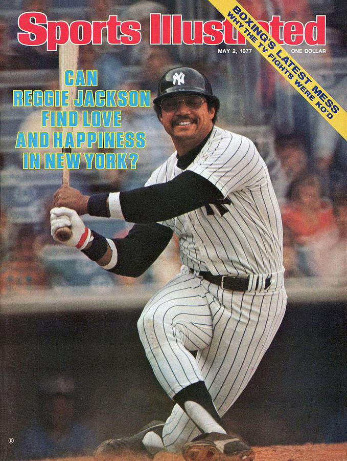New York Yankees Reggie Jackson... Sports Illustrated Cover Photograph by Sports Illustrated