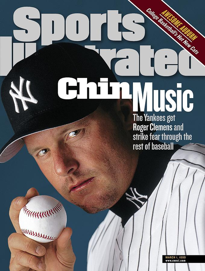 New York Yankees Roger Clemens Sports Illustrated Cover Photograph by Sports Illustrated