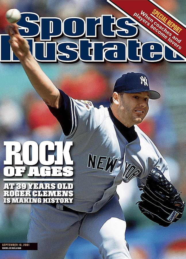 New York Yankees Roger Clemens... Sports Illustrated Cover Photograph by Sports Illustrated