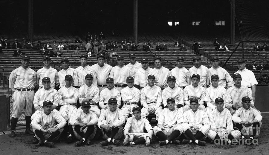 New York Yankees Photograph by Transcendental Graphics