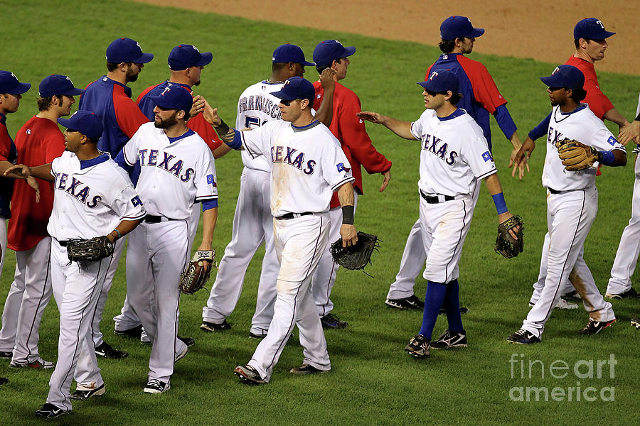 New York Yankees V Texas Rangers, Game 2 Photograph by Ronald Martinez
