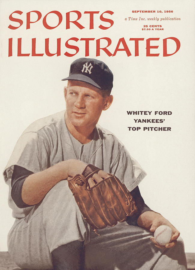 New York Yankees Whitey Ford Sports Illustrated Cover Photograph by Sports Illustrated
