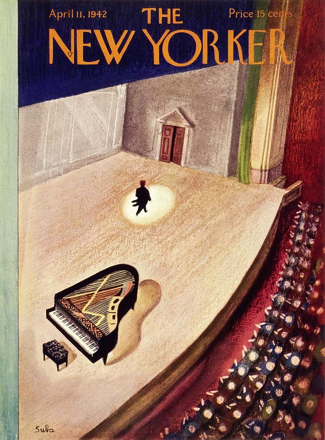 New Yorker April 11th 1942 Painting by Susanne Suba