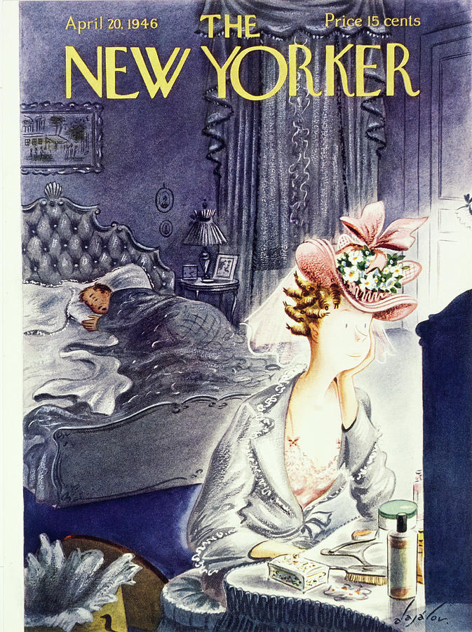 New Yorker April 20 1946 Painting by Constantin Alajalov