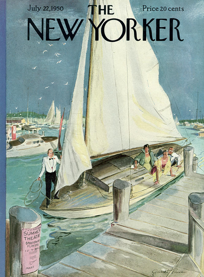 New Yorker July 22, 1950 Painting by Garrett Price