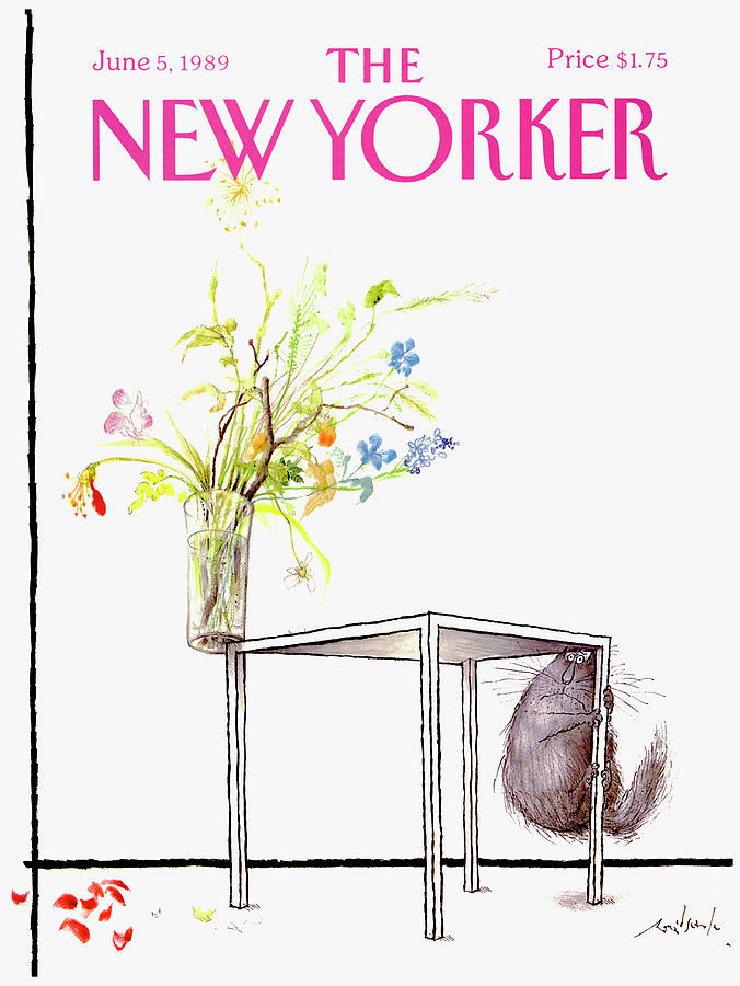 New Yorker Cover June 5 1989 Drawing by Ronald Searle