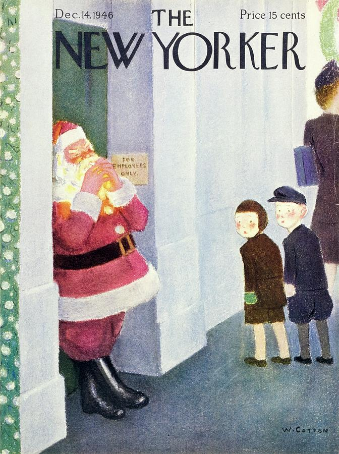 New Yorker December 14, 1946 Painting by William Cotton