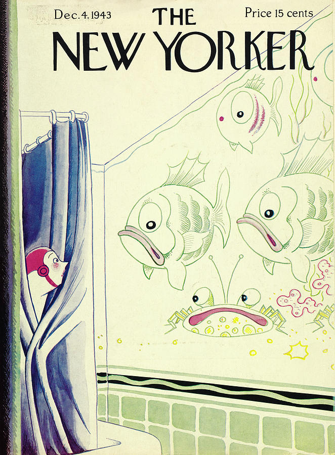 New Yorker December 4, 1943 Painting by Rea Irvin