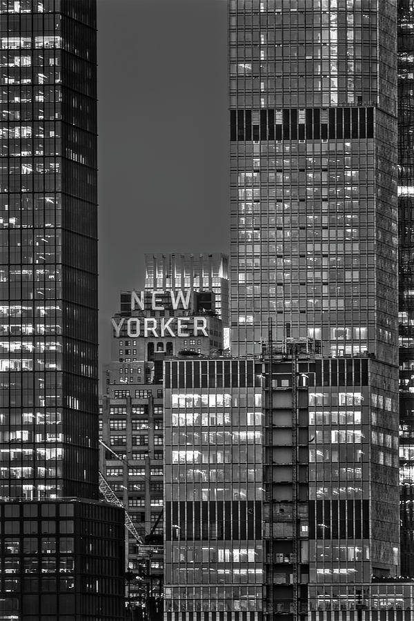 New Yorker Hotel NYC BW by Susan Candelario