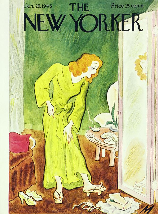 New Yorker January 26, 1946 Painting by Julian De Miskey