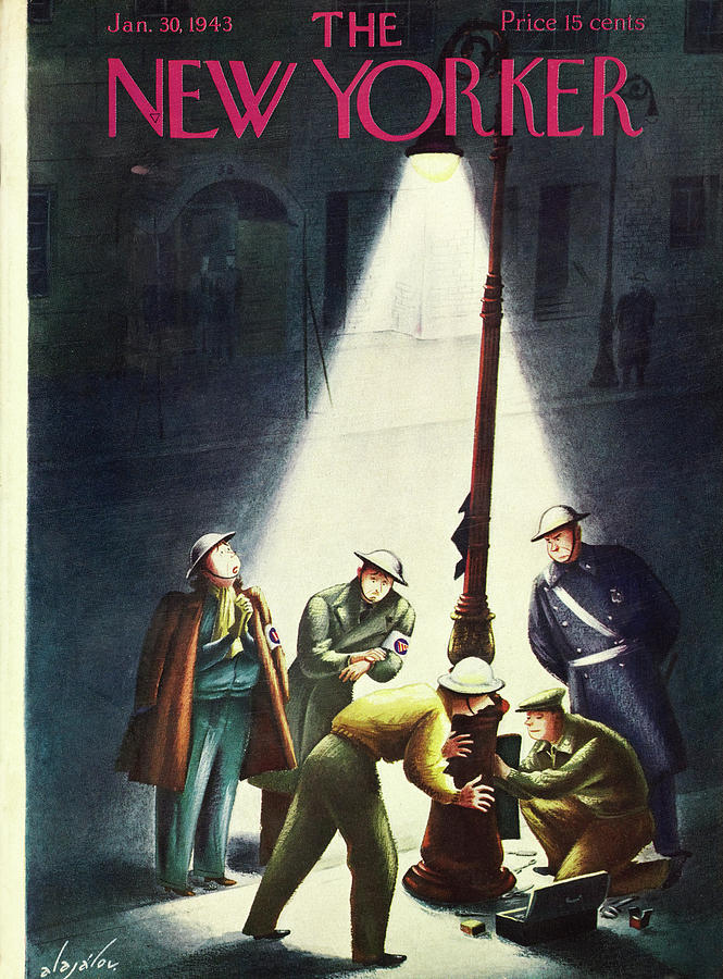 New Yorker January 30 1943 Painting by Constantin Alajalov