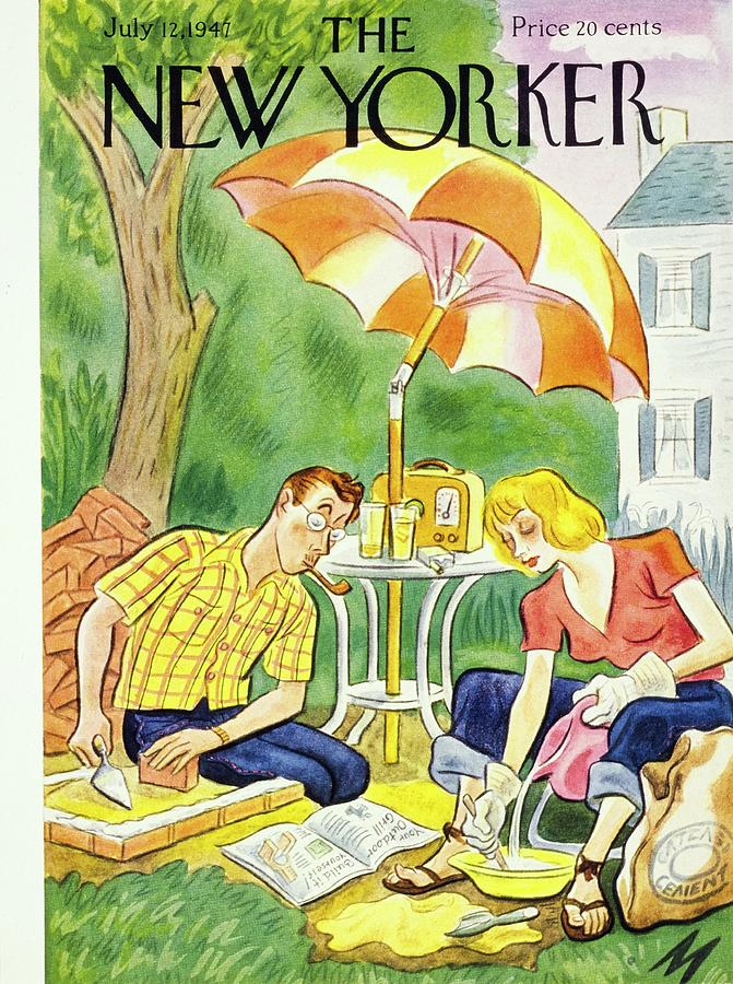 New Yorker July 12th 1947 Painting by Julian De Miskey