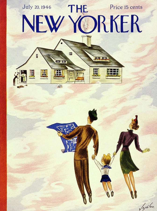 New Yorker July 20 1946 Painting by Constantin Alajalov