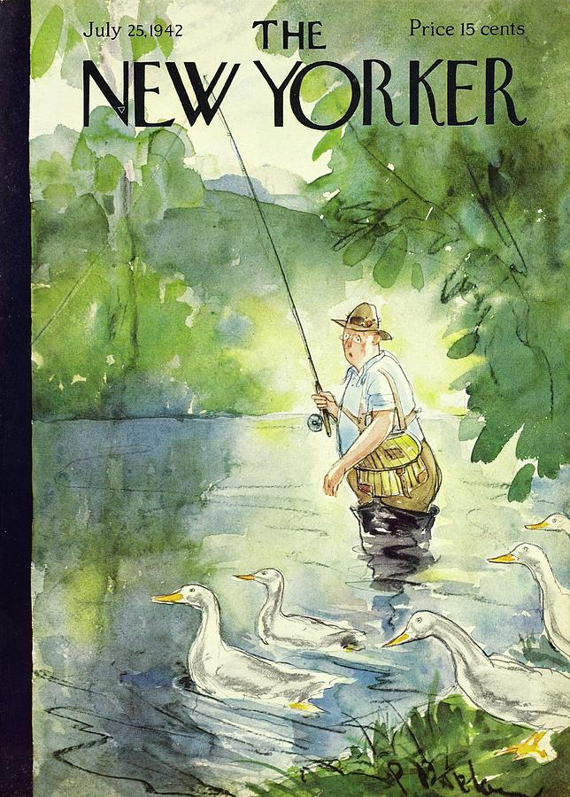 New Yorker July 25 1942 Painting by Perry Barlow