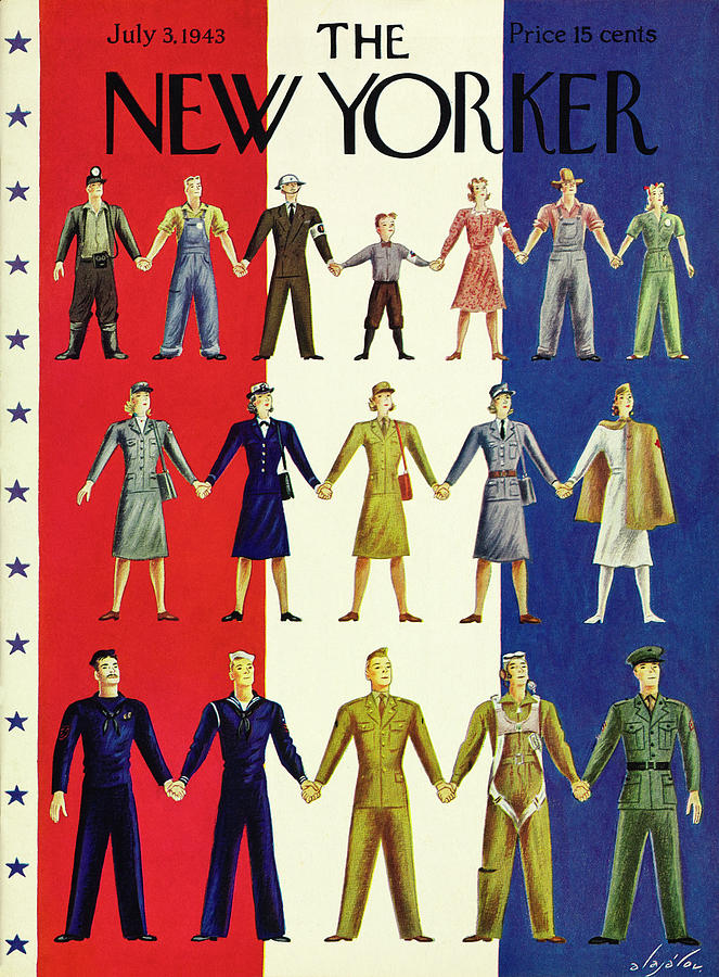 New Yorker July 3 1943 Painting by Constantin Alajalov