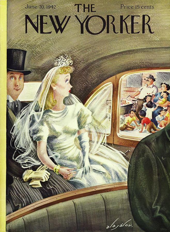 New Yorker June 20 1942 Painting by Constantin Alajalov