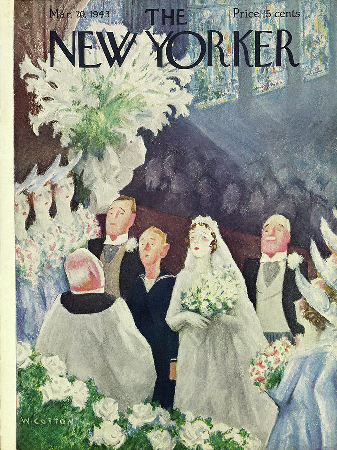 New Yorker March 20 1943 Painting by William Cotton