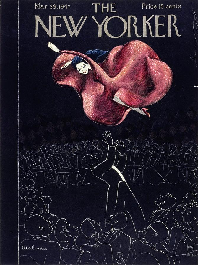 New Yorker March 29th, 1947 Painting by Christina Malman