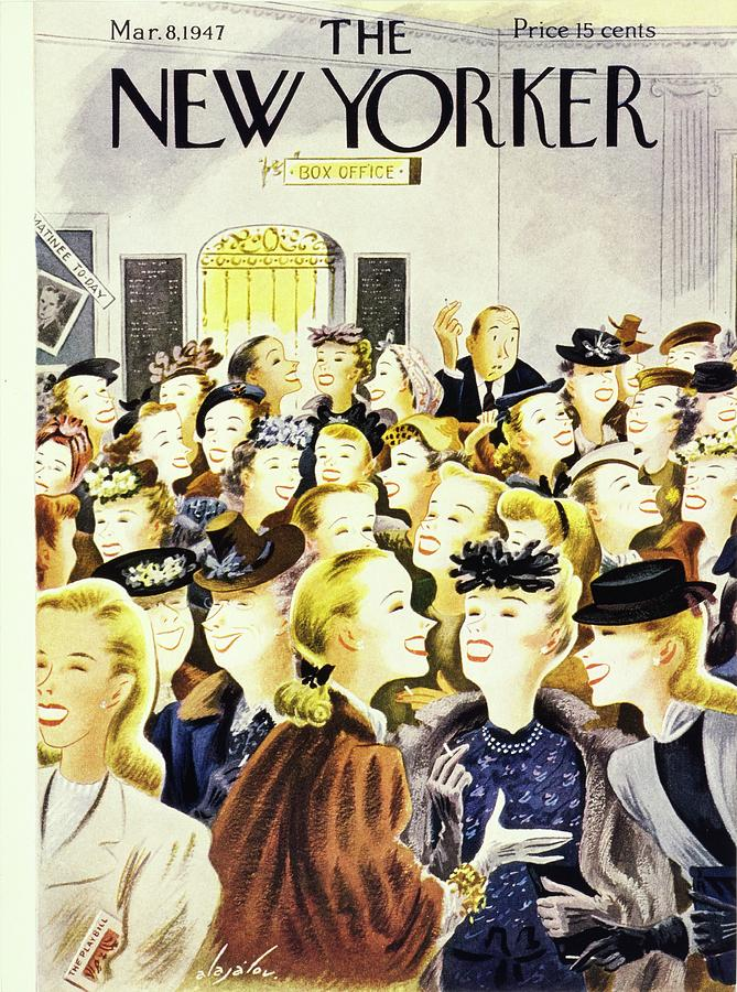 New Yorker March 8, 1947 Painting by Constantin Alajalov