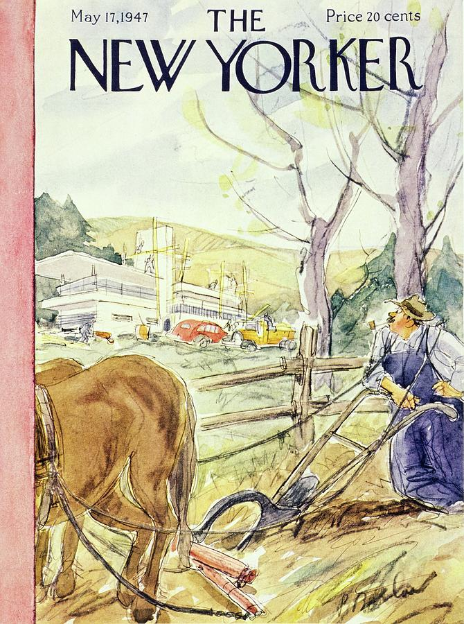 New Yorker May 17th 1947 Painting by Perry Barlow
