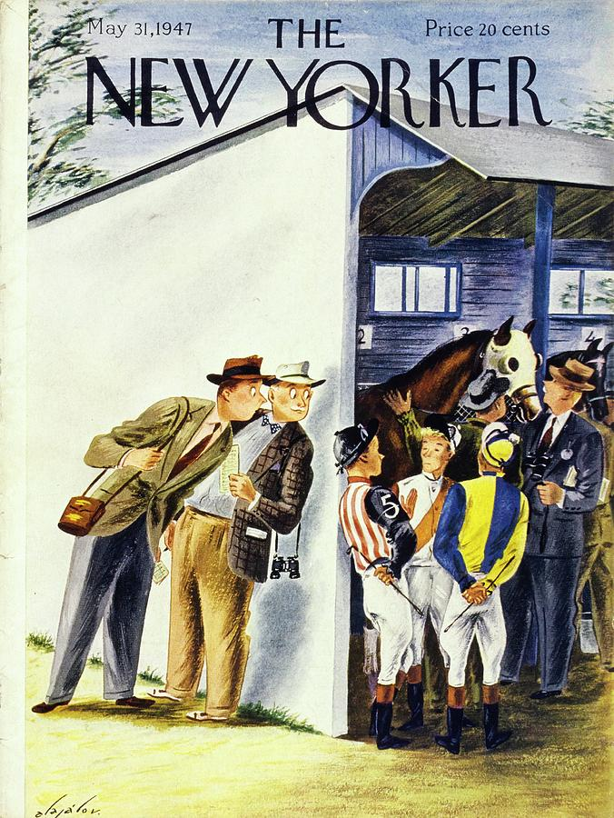 New Yorker May 31st 1947 Painting by Constantin Alajalov