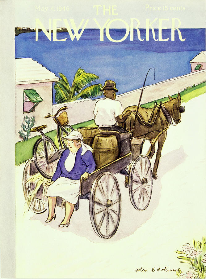 New Yorker May 4th 1946 Painting by Helene E Hokinson