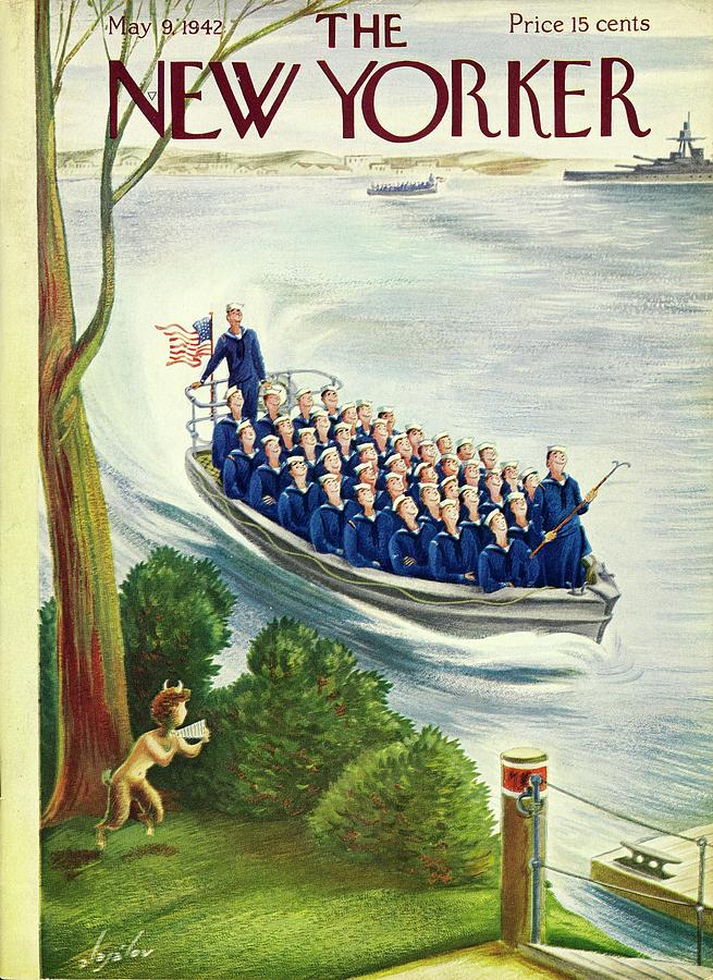 New Yorker May 9, 1942 Painting by Constantin Alajalov