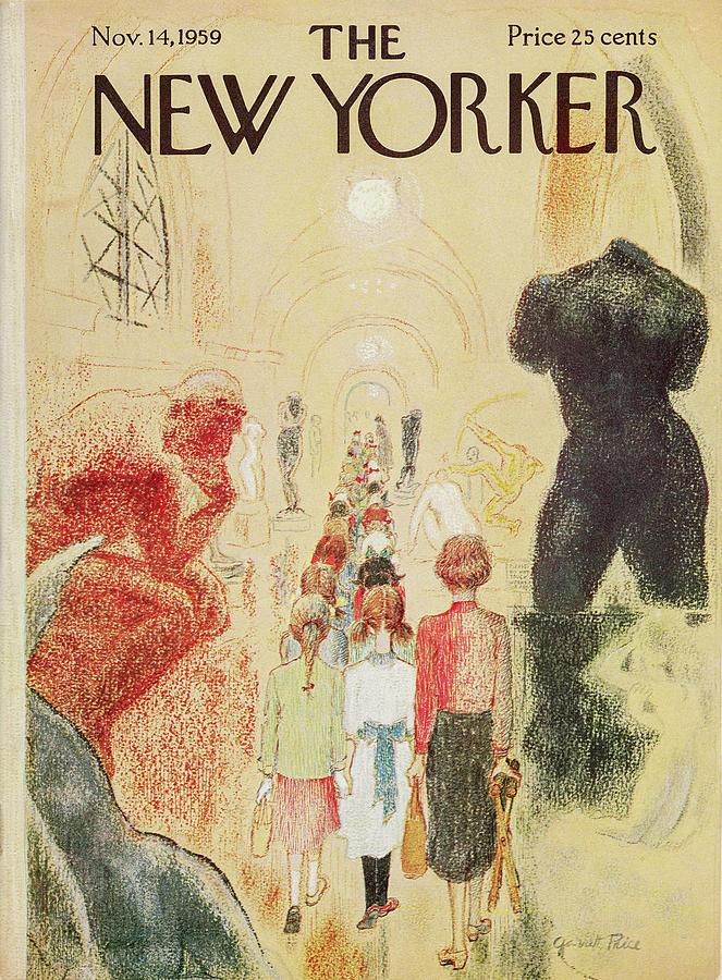 New Yorker November 14 1959 Painting by Garrett Price