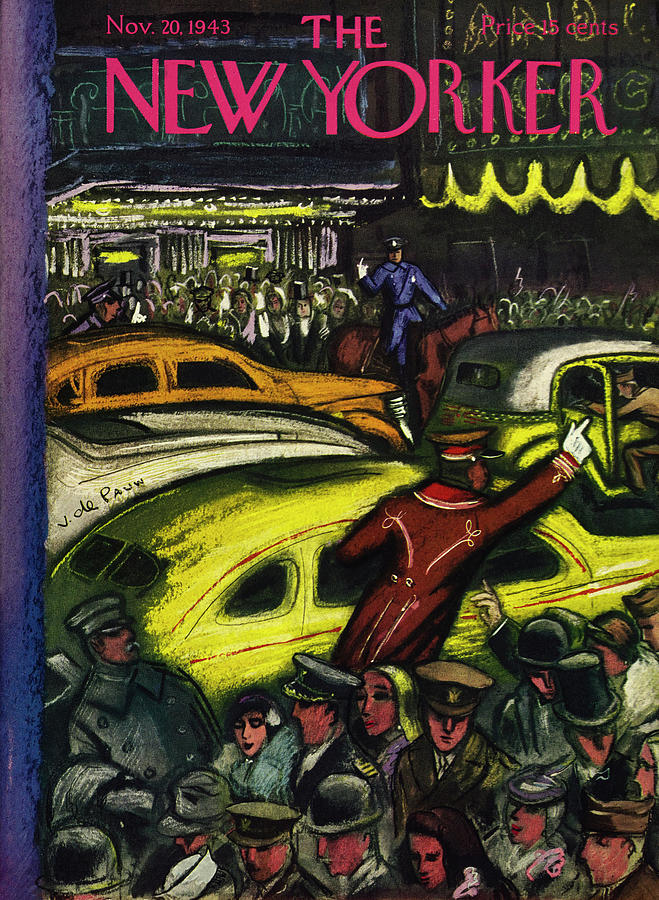New Yorker November 20th 1943 Painting by Victor De Pauw