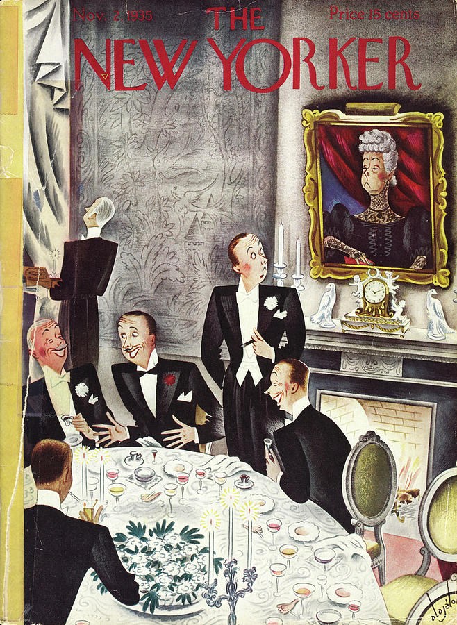 New Yorker November 2 1935 Painting by Constantin Alajalov