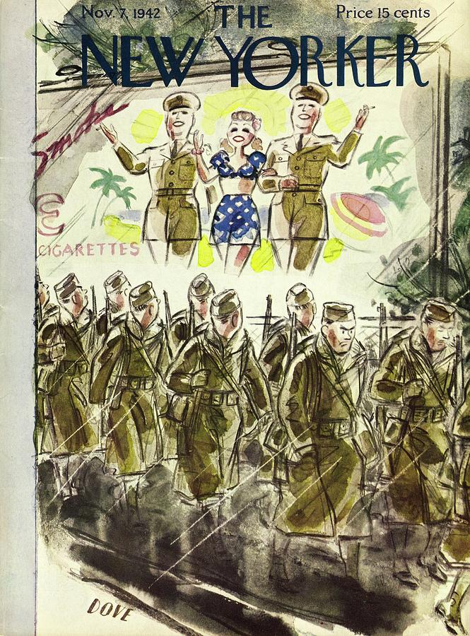 New Yorker November 7, 1942 Painting by Leonard Dove