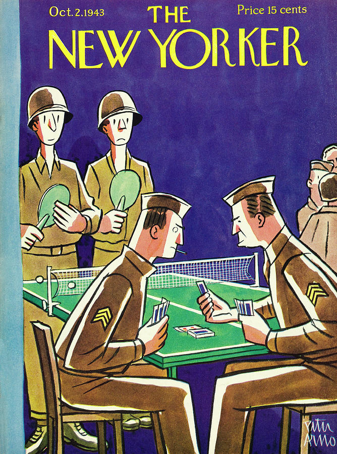 New Yorker October 2nd 1943 Painting by Peter Arno