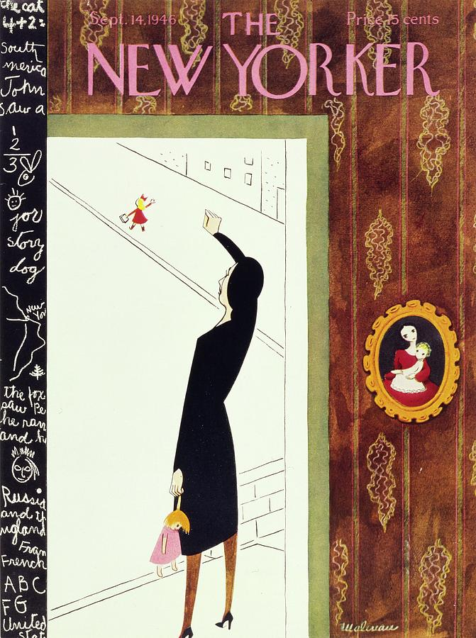 New Yorker September 14, 1946 Painting by Christina Malman