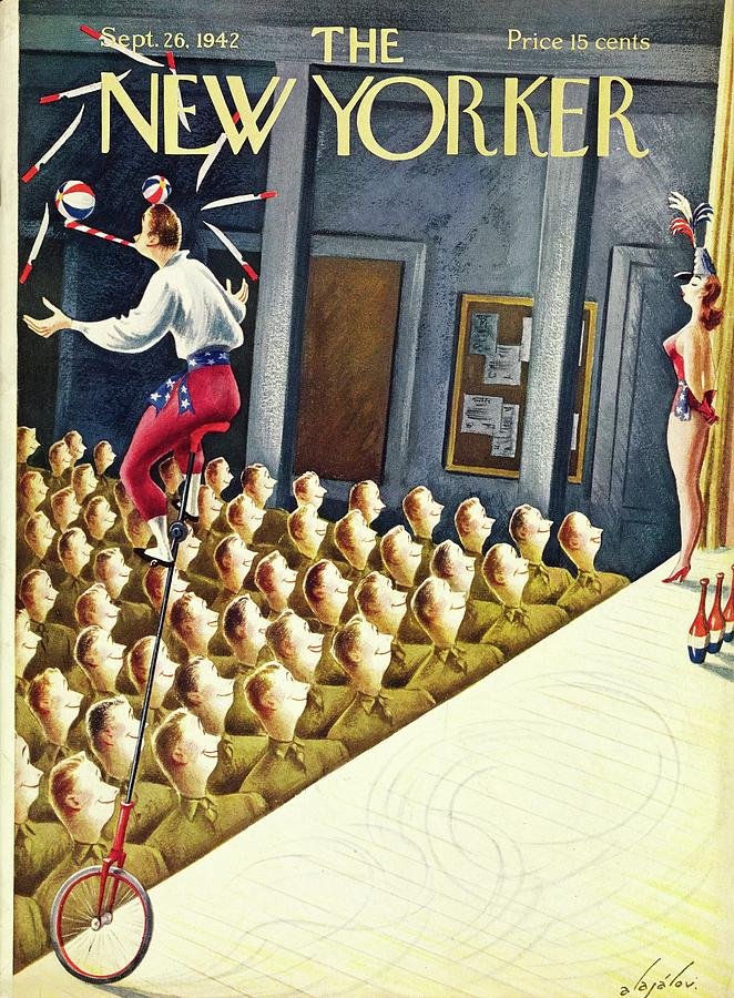 New Yorker September 26 1942 Painting by Constantin Alajalov