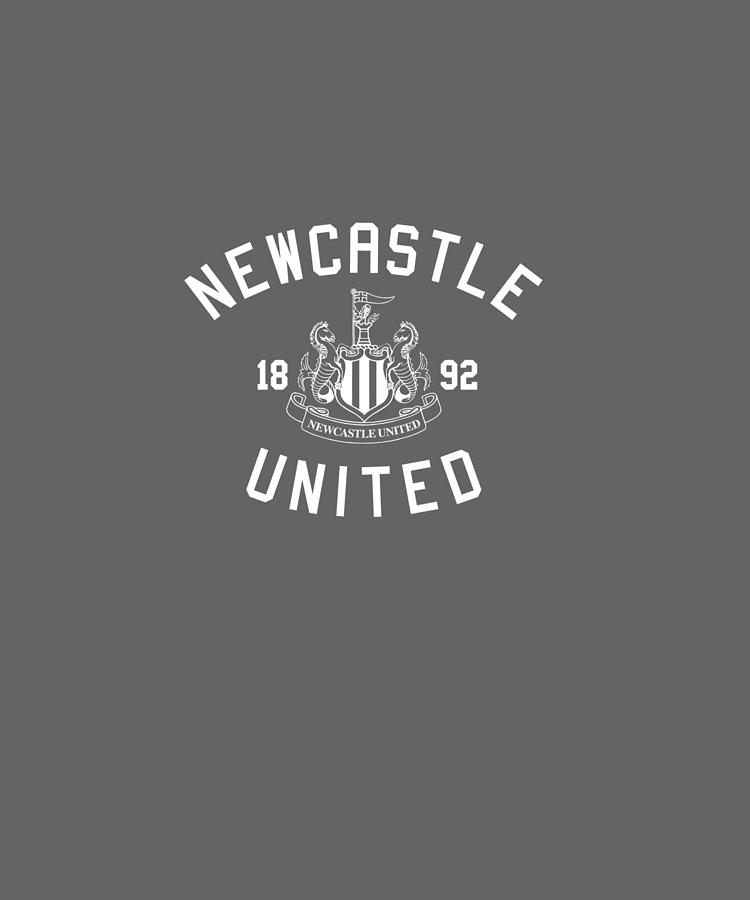 NEWCASTLE UNITED FOOTBALL LOGO PICTURE PRINT ON FRAMED CANVAS WALL ART DECOR