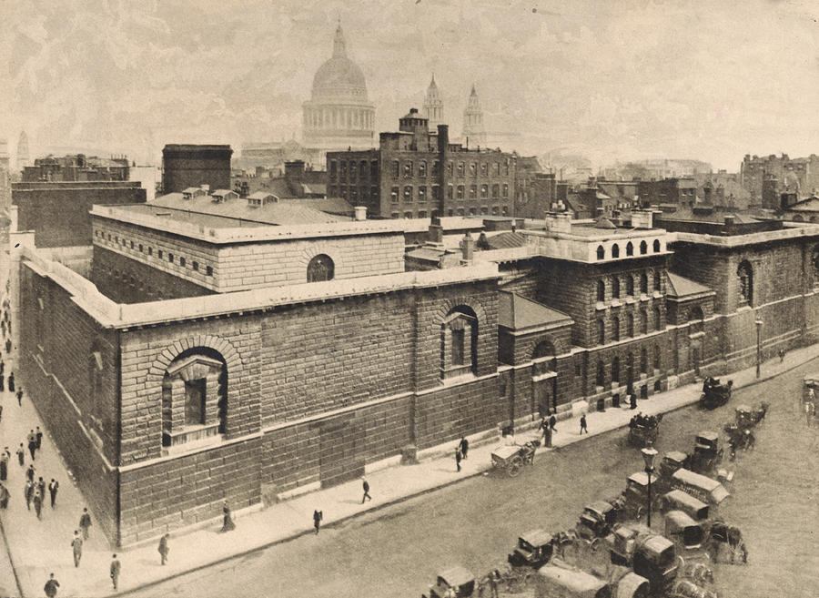 Newgate Prison Photograph by General Photographic Agency