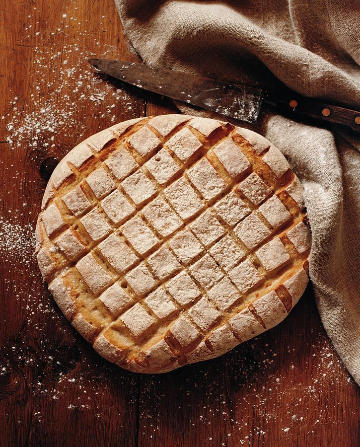 Newly-baked Bread Photograph by Carl Johan Ronn