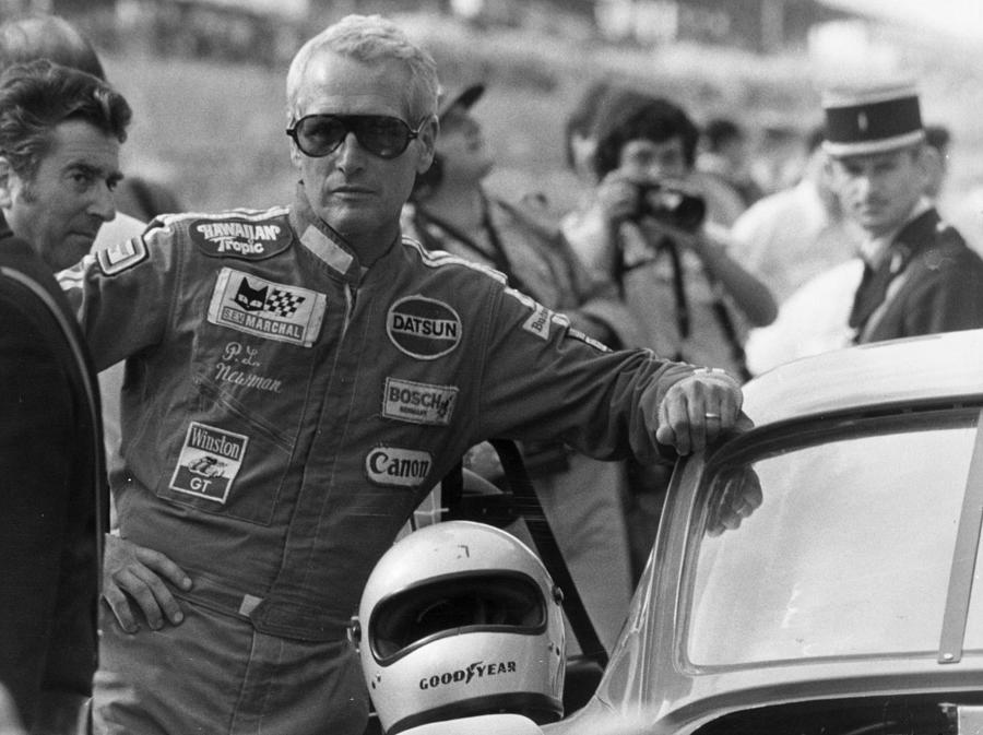 Newman Le Mans Photograph by Keystone