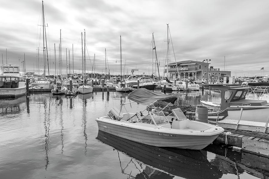 Newport Photograph - Newport Rhode Island Harbor by Betsy Knapp